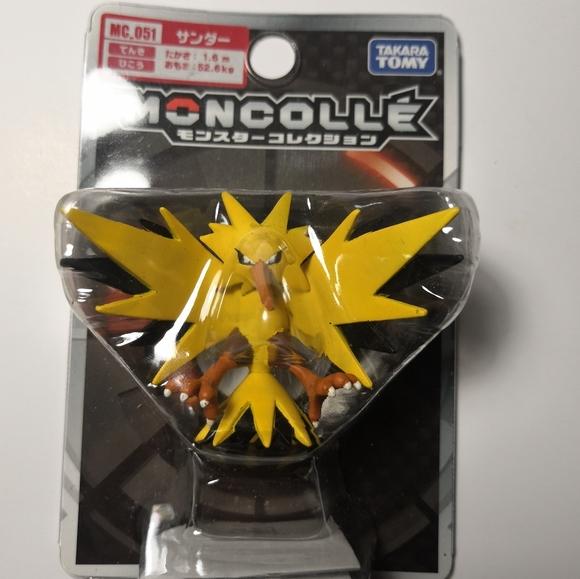 Official Pokemon Zapdos Figurine
